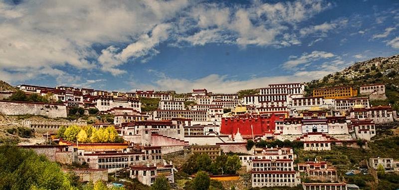 Gaden Monastery Tibet