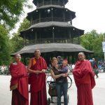 Monks from Ganden at English Garden Munich