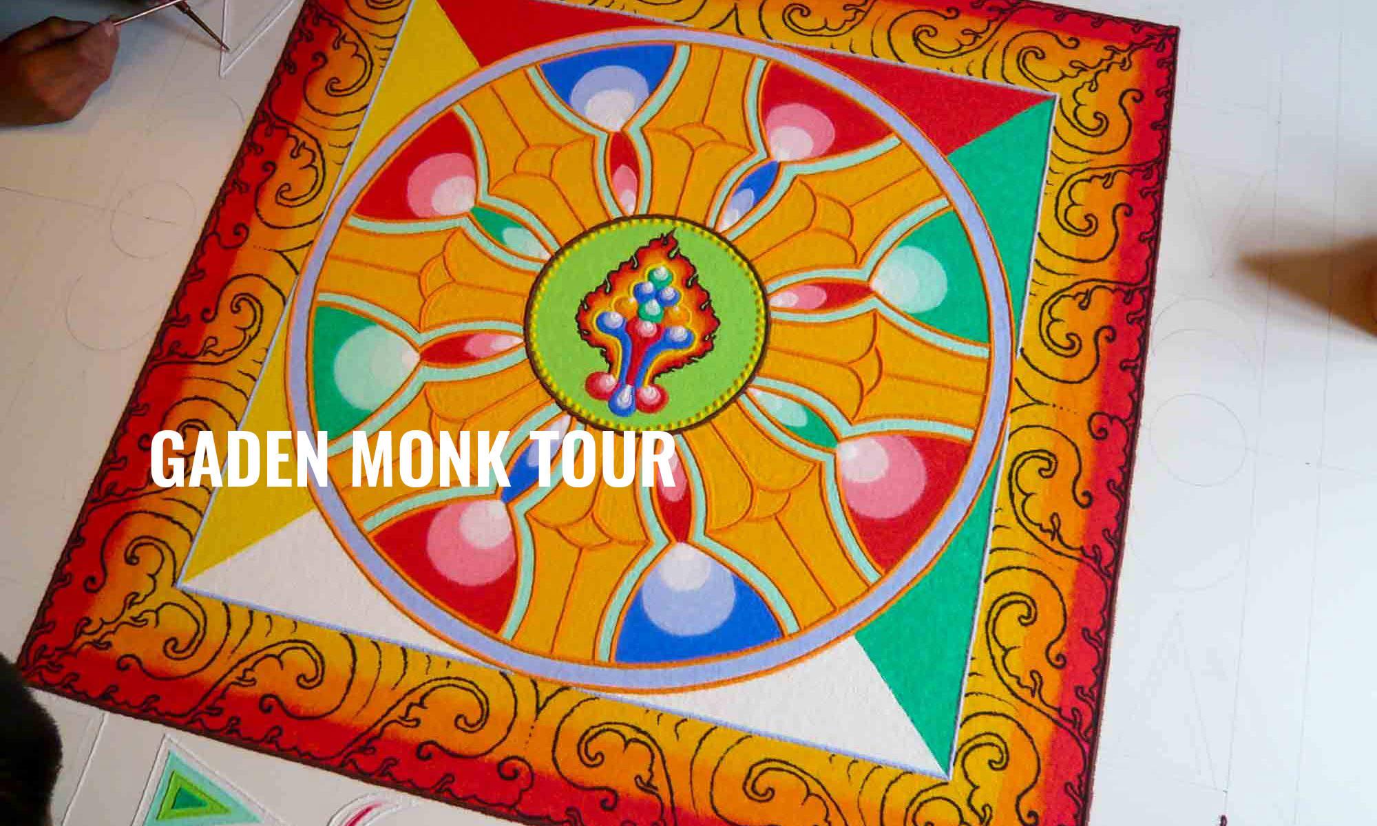 TIBETAN MONK TOUR