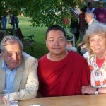 His Eminence Khyungser Trichen Rinpoche with Mayor Leopold Guggenberger from Klagenfurt