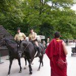 Monks from Ganden Monastery at English Garden