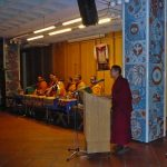 Kyabje Khyungser Rinpoche of Ganden Monastery