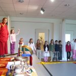Shar Ganden Monks at Aton School Munich